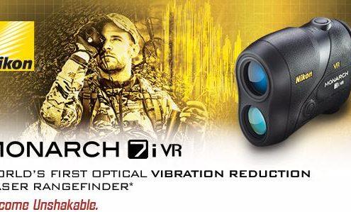 nikons monarch 7i vr worlds first optical vibration reduction laser rangefinder